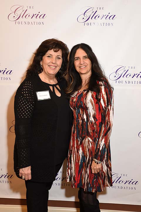 Mary Lombardo, J&M Catering, Boonton  and Debbi Nappi, CPA, Sax Financial Treasurer, The Gloria Foundation