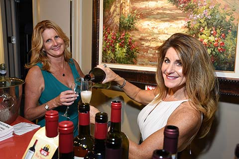 Kelly Kehoe & Tara Merlino of Gallo Wines, Montville, NJ