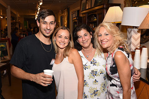 Zack Kahn, Charis Lenox, Vibrance Med Spa,  Janet Ryan, Spectra Spray Vitamins and Daria Senaldi, Montville Education Foundation