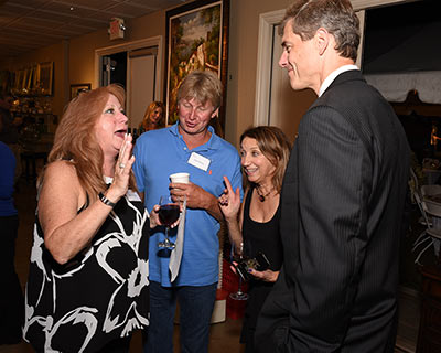 Sharon & Glen Palacia, Wayne, with Karen Arakelian, Founder, wishing Assemblymen Jay Webber success on his Congressional run!